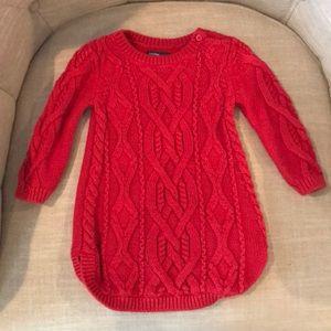 Baby GAP Girl's Sweater Dress 6-12 Months